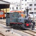 Photos: s6761_坊ちゃん列車14号機関車回転中