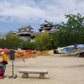 Photos: s6840_松山城記念撮影場所