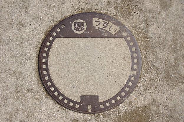 s6889_松山市マンホール_うすい_無地_松山城山公園