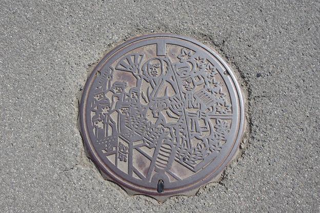 s0927_仙北市旧角館町マンホール