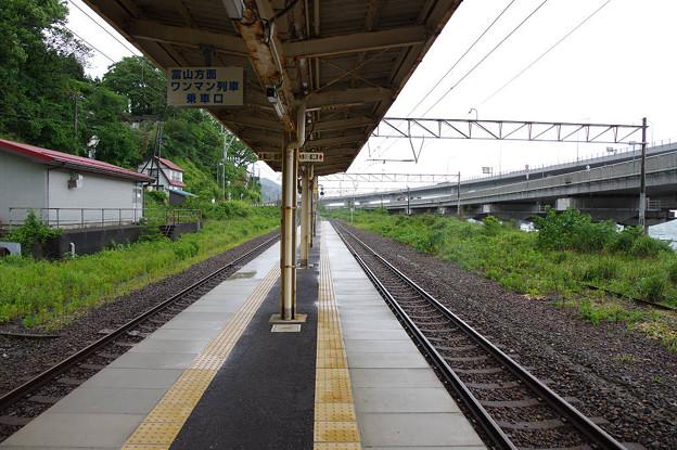 s7090_親不知駅ホーム
