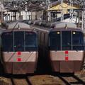 Photos: s2024_小田急はこね16号EXE30000形とはこね21号EXE30000形_渋沢~新松田_t