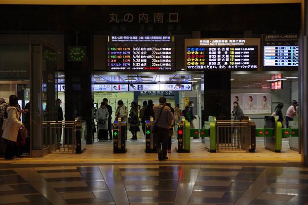 Photos: s0329_東京駅丸の内南口改札口