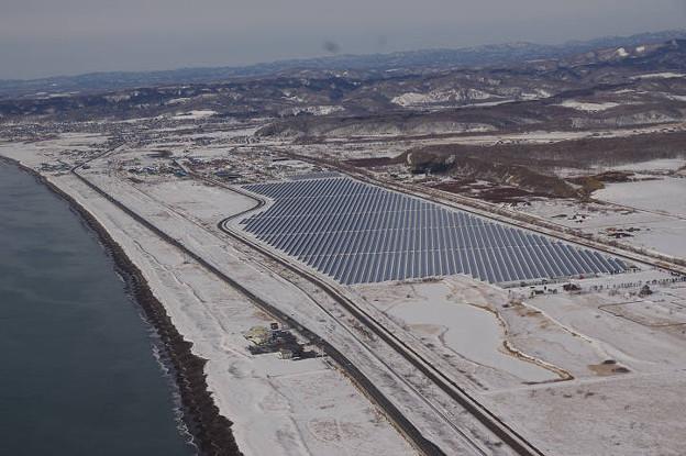 s7232_北海道白糠町空撮_大規模太陽光発電