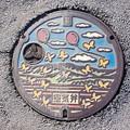 Photos: s7167_吉川市マンホール_空気弁_カラー