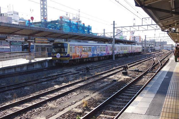 s8486_三島駅1番ホームの削り部分