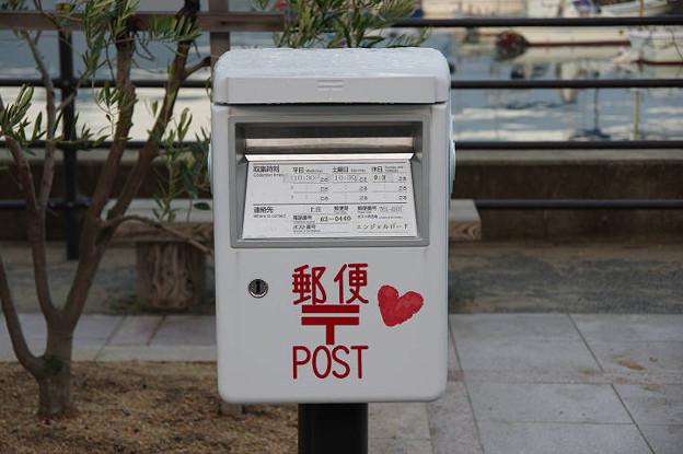 s6767_小豆島エンジェルロード付近の郵便ポスト