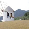 Photos: s6921_道の駅小豆島オリーブ公園_ギリシャ風車周辺での撮影風景