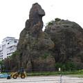 Photos: s4335_ゴジラ岩_ウトロ