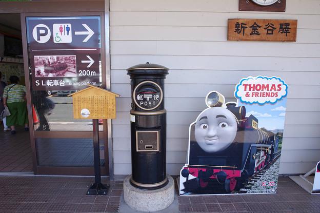s9804_新金谷駅のポスト