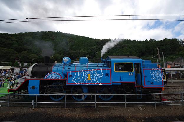 s9979_大井川鐡道トーマス号機関車側面