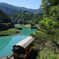 sA526_大井川鐡道203列車_奥大井湖上~接岨峡温泉