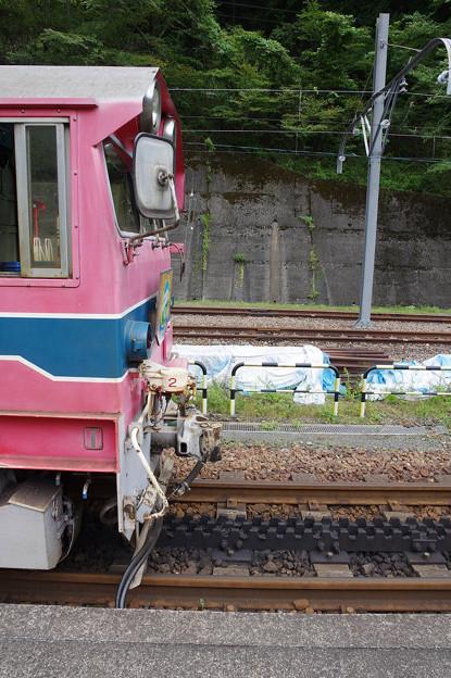 sA107_大井川鐡道207列車後部に補機連結準備_アプトいちしろ