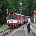 sA377_大井川鐡道208列車接岨峡温泉駅発車