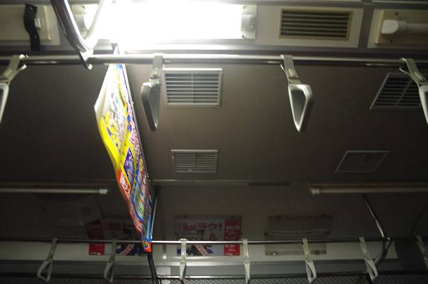 s6383_関門デッドセクション通過時のクハ411-224車内灯