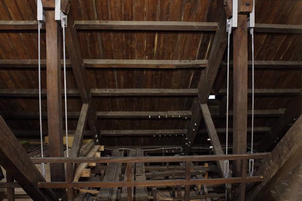 s6411_門司港駅2階から見える駅舎骨組み