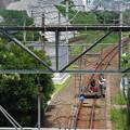 s6578_山陽本線下り線関門トンネル下関側入口付近で電力工事中_r