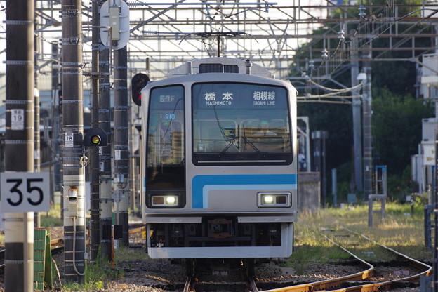 s4558_相模線1467F列車_205系R10編成_厚木駅発車