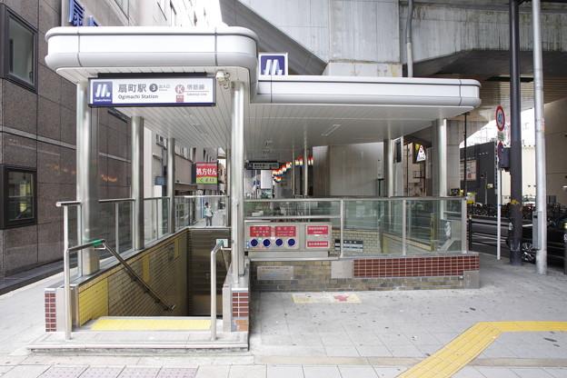 s8614_扇町駅3番地下入口_大阪府大阪市北区_大阪市高速