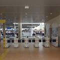 Photos: s8194_甲子園駅臨時出口の自動改札機_虎模様