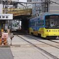Photos: s8165_阪堺あびこ道行_703_新今宮駅前電停発車