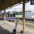 Photos: s8823_花巻駅500kmポスト_t