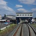 Photos: s9047_陸中山田駅駅舎とホーム_c