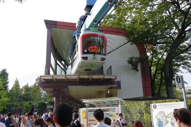 s1368_都営上野懸垂線_上野動物園西園駅を発車_r