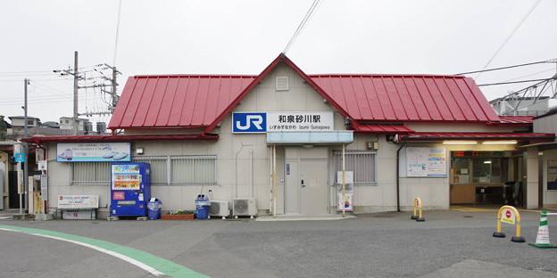 Photos: s3185_和泉砂川駅西口_大阪府泉南市_JR西_t