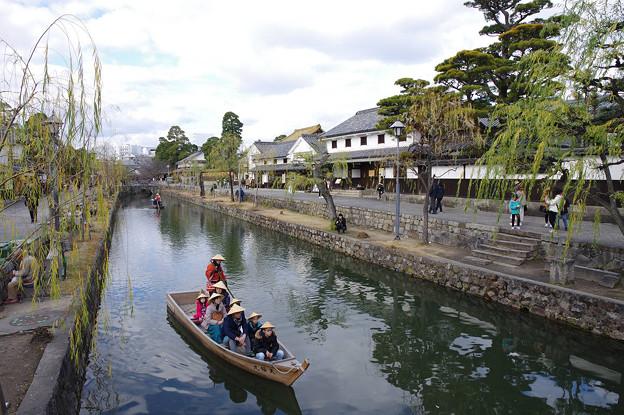s3595_倉敷美観地区倉敷川の観光船