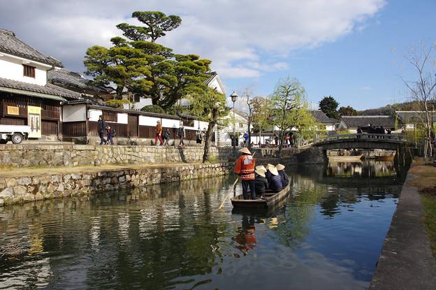 Photos: s3665_倉敷美観地区倉敷川の観光船