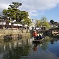s3665_倉敷美観地区倉敷川の観光船