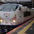 Photos: s3197_特急はるか_281系電車Ori-Tsuru編成_和泉府中駅通過_t