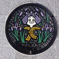 Photos: s5193_花巻市東和地区マンホール_とうわおすい_市役所支所前