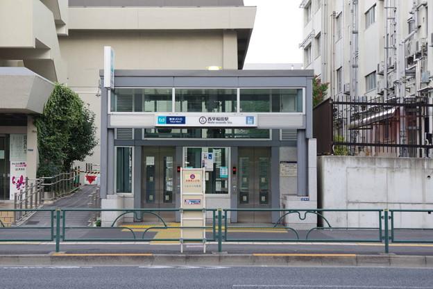s4278_西早稲田駅南側エレベーター地下入口_東京都新宿区_東京メトロ_c