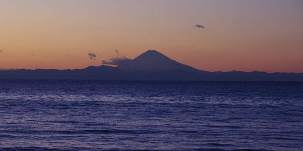 Photos: s4623_館山から見た富士山_t