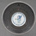 Photos: s7978_静岡市マンホール_耐震貯水槽_しずみぃ水を出す柄
