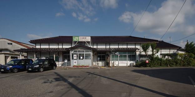 Photos: s8224_三条駅_新潟県三条市_JR東_rt