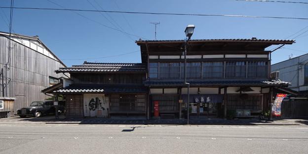 Photos: s8480_村上市きっかわ鮭店と益甚酒店_c