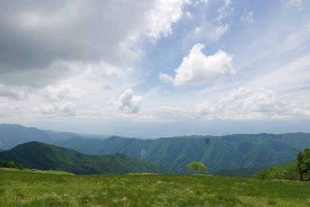 山の景色と美味しい空気でいつまでも居られますが~。