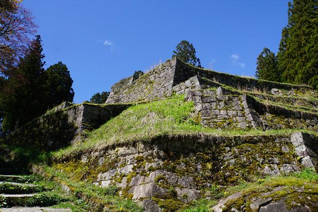 遺跡のような城