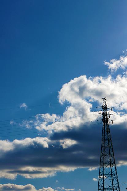 Photos: 鉄塔と雲