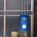 Photos: 青いポスト