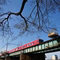 Photos: 赤い電車が撮りたくて