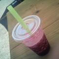 Photos: 暑すぎ~!ブルーベリースムージー美味しい(*^^*)