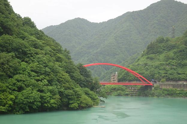 うなづき湖  湖面橋