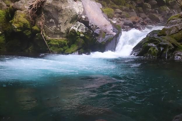 Photos: 蒼い川