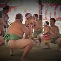 Photos: 越木岩神社泣き相撲