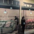 Photos: 喫茶店の壁絵