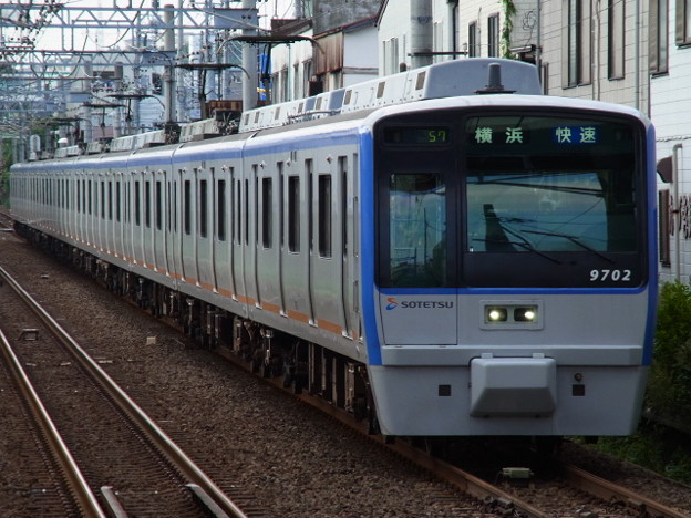 相鉄本線 快速横浜行 RIMG6363
